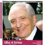 La copertina speciale del 17 febbraio 2015 dedicata a Michele Ferrero