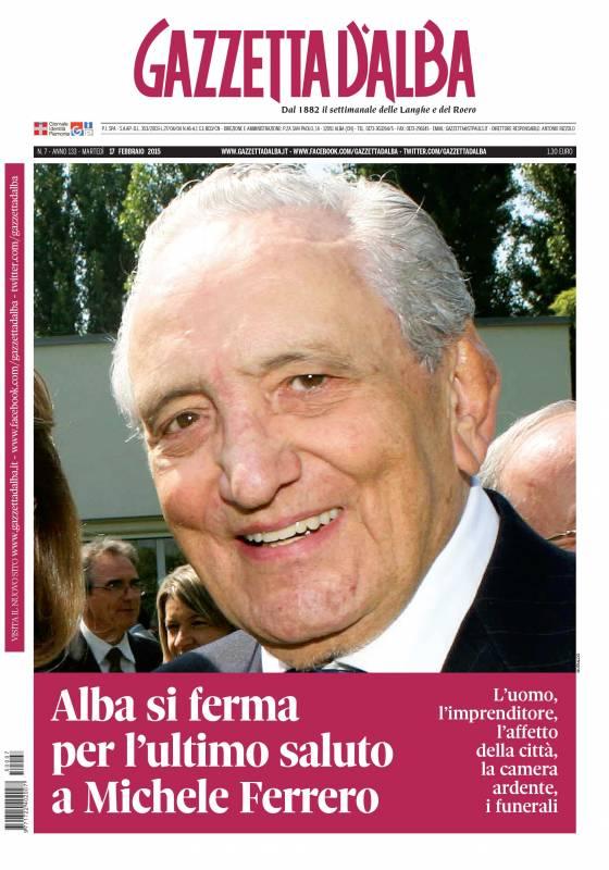 Il 14 febbraio 2015 moriva Michele Ferrero. Sabato 18 la Messa per il secondo anniversario