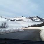 Meteo, pioggia e neve in Piemonte