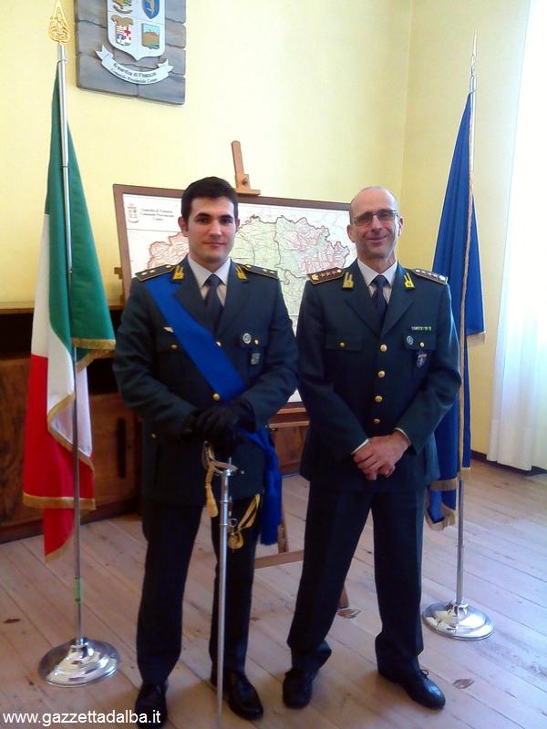 Il tenente Emanuele Farina e il colonnello Francesco De Angelis