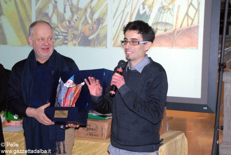 Marco Somà vincitore categoria illustrazione