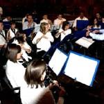 La banda giovanile Ars et labor al teatro sociale in concerto