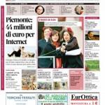 La copertina di Gazzetta d'Alba del 10 marzo 2015