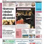 La copertina di Gazzetta d'Alba del 24 marzo 2015