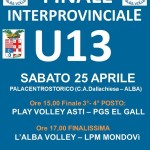 Alba ospita le finali di volley under 13