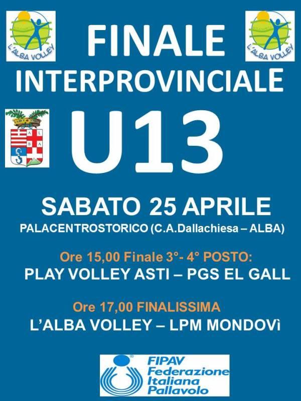 FINALE U13 25-4-15LOCANDINA