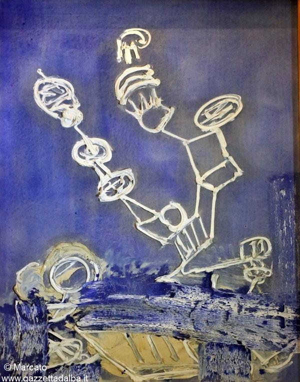 Pinot Gallizio, Il Lichene spregiudicato opera del 1961.