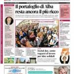 La copertina di Gazzetta d'Alba del 14 aprile 2015