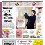 La copertina di Gazzetta d'Alba del 21 aprile 2015