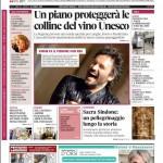 La copertina di Gazzetta d'Alba del 28 aprile 2015