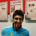 Diego Rosa 8° nella terza tappa del Giro del Trentino