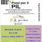 Presi per il Pil, documentario al Cinema Moretta