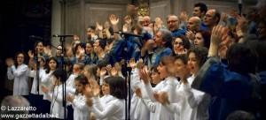 Ensemble vocale ambrosiano foto di Daniele Lazzaretto arca onlus