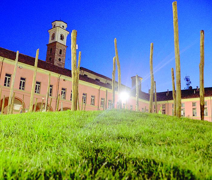 Apre una nuova area giochi nel cortile della Maddalena