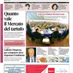 La copertina di Gazzetta d'Alba del 12 maggio 2015