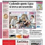 La copertina di Gazzetta d'Alba del 19 maggio 2015