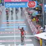 Speciale Giro, Imola-Vicenza: Contador sempre più leader, Rosa è 26° nella generale