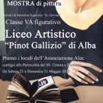 Il liceo artistico di Alba si fa ispirare da Casorati