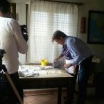 Televisione tedesca tra le colline Unesco per un reportage
