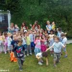 I bambini dell'asilo di Mussotto in gita a Torino
