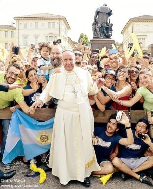 Francesco a Torino salesiani valdocco Sfor Ansa