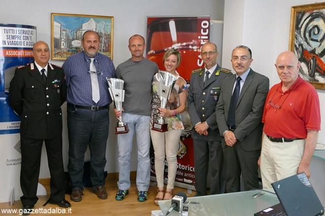 Matteo Giordano e Manuela Siragusa sono i campioni Aci Cuneo 2014