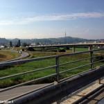 Code all'ingresso di Alba per i lavori in corso Europa e via Scaglione