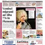 La copertina di Gazzetta d'Alba del 16 giugno 2015