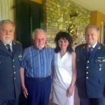 La Finanza festeggia l'85° compleanno del maresciallo Servetti