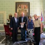 Ad Alba una delegazione del Comune siciliano di Marianopoli