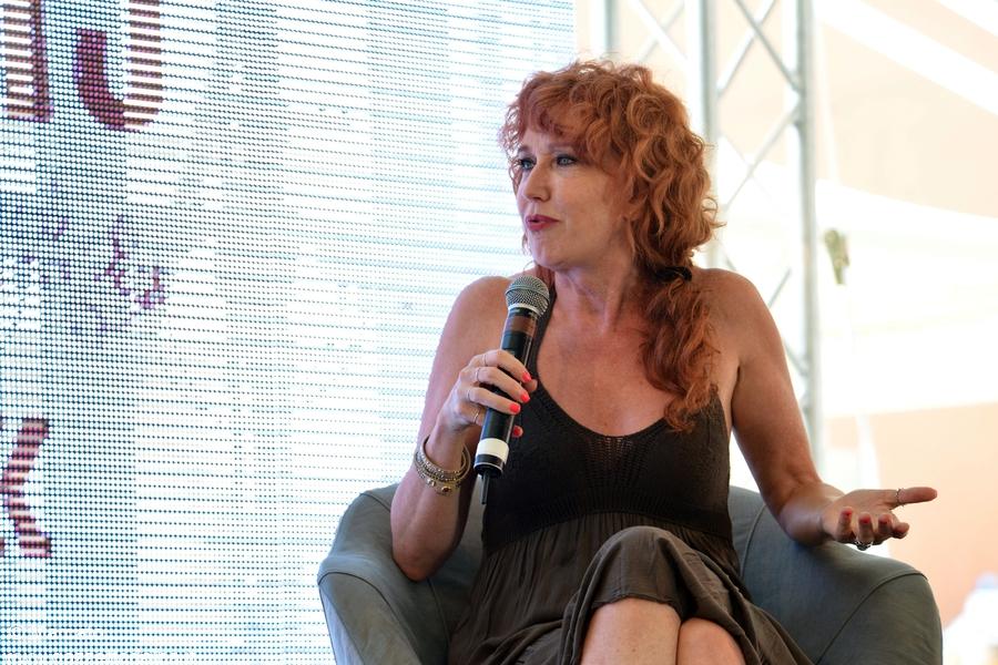 Fiorella Mannoia sul palco di Collisioni a  Barolo