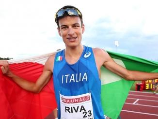 Pietro Riva nono nei 10.000 metri al Mondiale juniores
