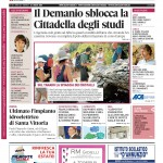 La copertina di Gazzetta d'Alba del 14 luglio 2015