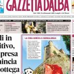 La copertina di Gazzetta d'Alba del 28 luglio 2015