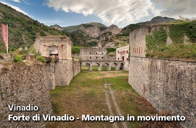 Sabato 16 a Vinadio per  visitare la Caverna e scoprire il Forte dall'alto