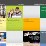 Nuovo sito Internet per la Regione Piemonte