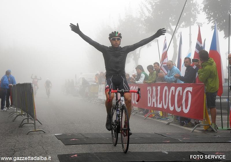 Il vincitore Matteo Bordignon