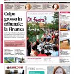 La copertina di Gazzetta d'Alba del 4 agosto 2015