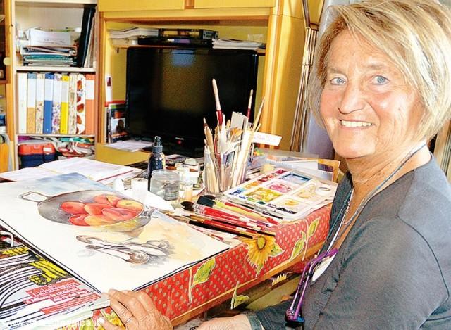 Barolo Painting Carla Ghisolfi
