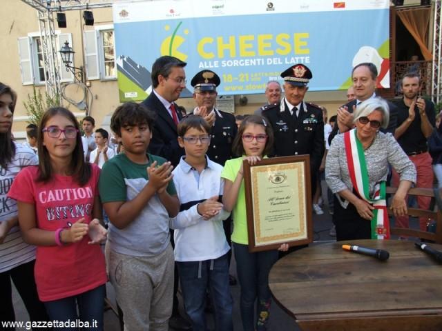 Carabinieri Bra cittadinanza onoraria