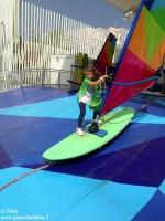 Con Ferrero a Expo _e si fa surf
