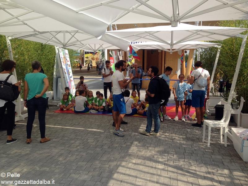 Con Ferrero a Expo_ il backstage del video