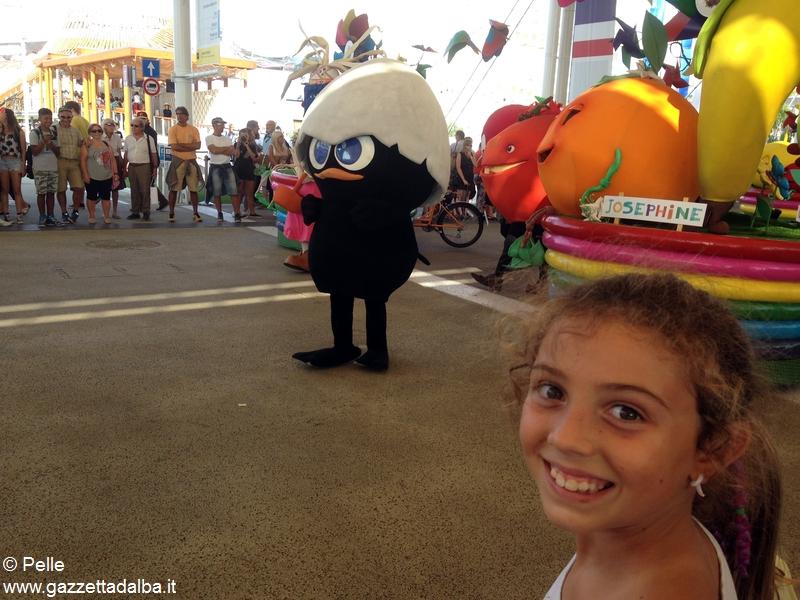 Con Ferrero a Expo_anche Calimero
