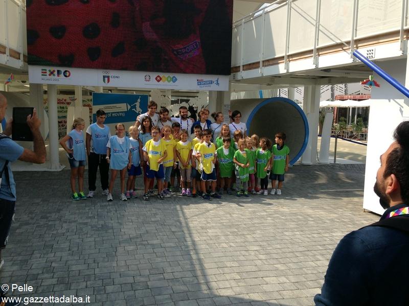 Con Ferrero a Expo_il saluto finale