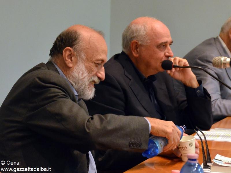 Carlin Petrini e don Antonio Sciortino