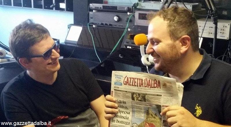 Marcello Pasquero a radio Alba