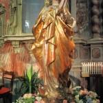 Folla di fedeli per la Processione mariana