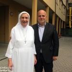Il saluto a suor Giulia Senes che lascia la guida della Piccola casa della Divina Provvidenza di Alba