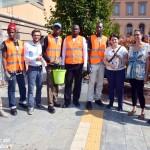 Iniziato il lavoro volontario dei profughi ospitati ad Alba