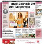 La copertina di Gazzetta d'Alba del 22 settembre 2015